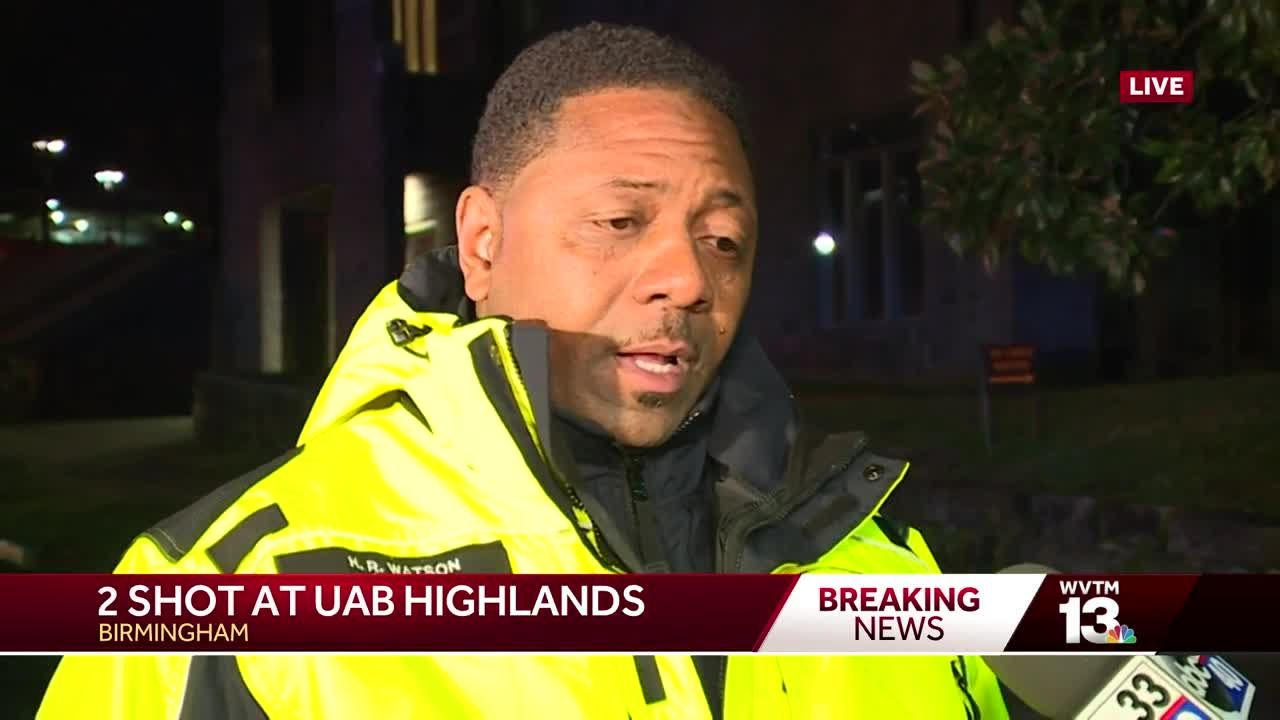 Birmingham fire official on UAB Highlands hospital shooting