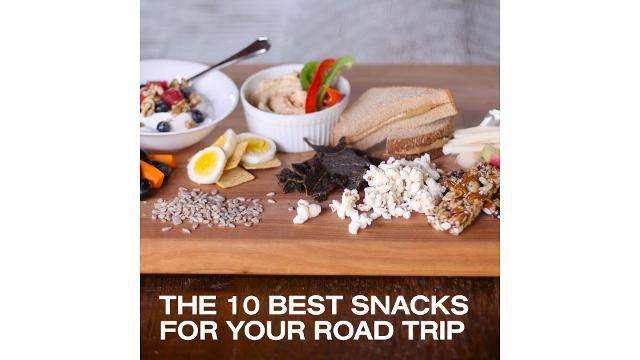 The 10 Best Snacks to Pack For a Road Trip