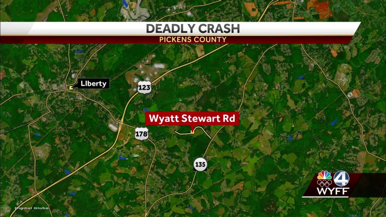 One person dead after crash in Pickens County, troopers say