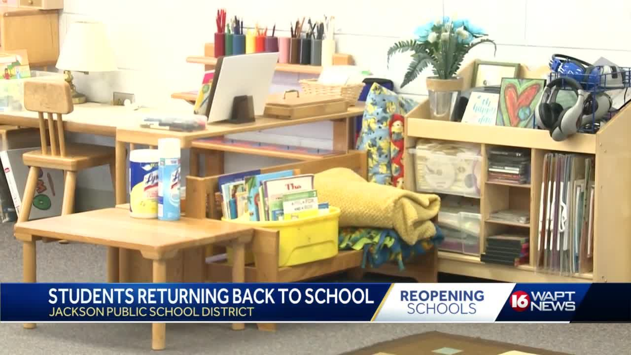 JPS students gear up to return to the classroom