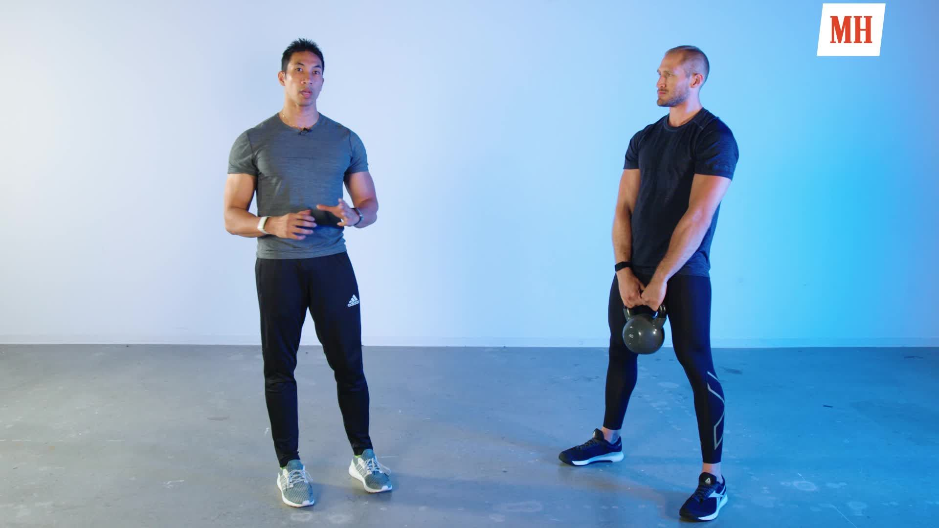 How to Do a Kettlebell Swing the Right Way