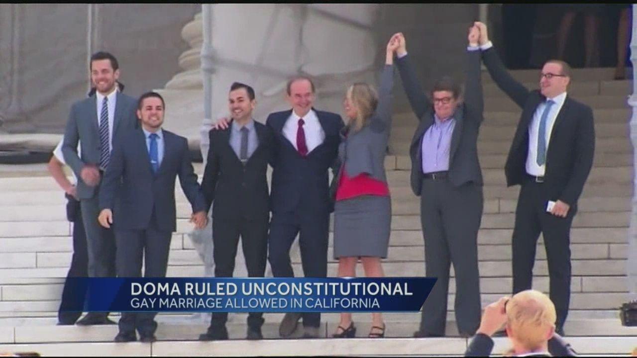 DOMA Unconstitutional