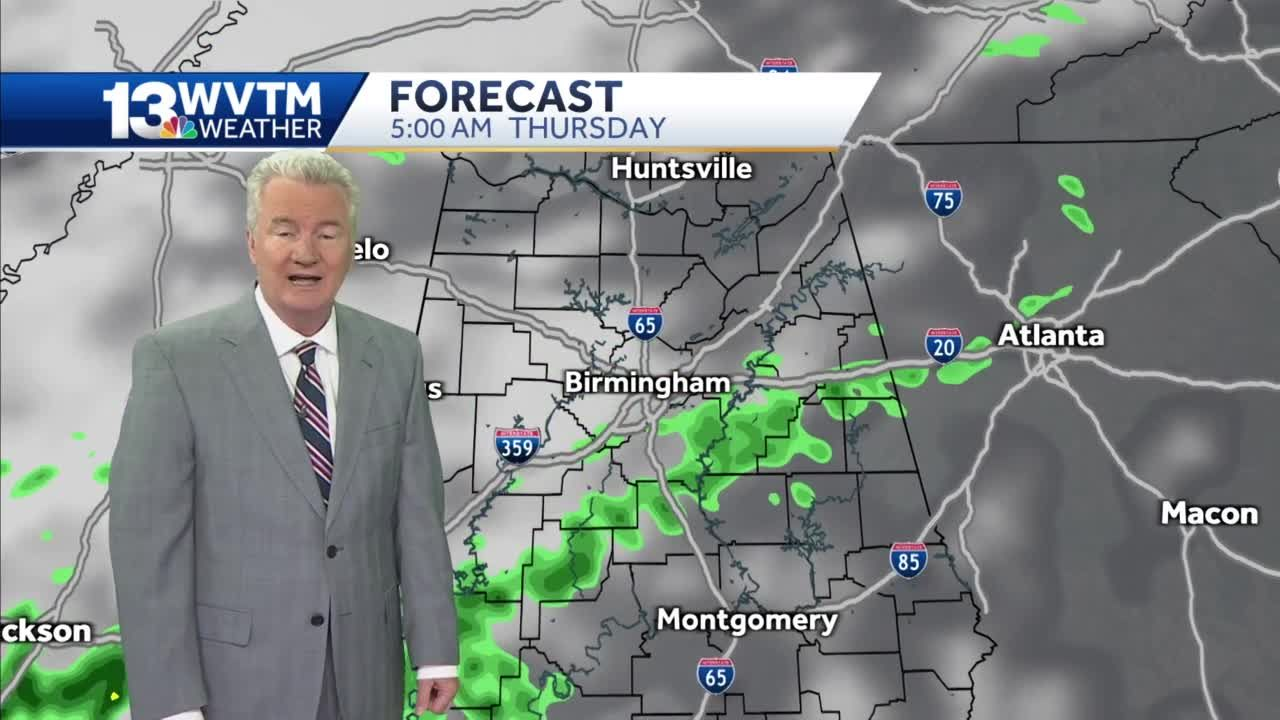 Rain impacts the end of the week