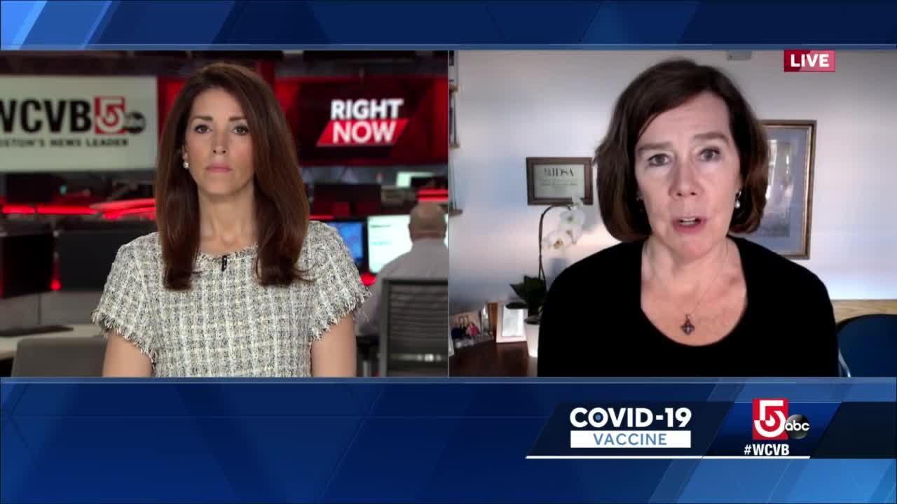 Mass. doctor's messages to people who received J&J COVID-19 vaccine