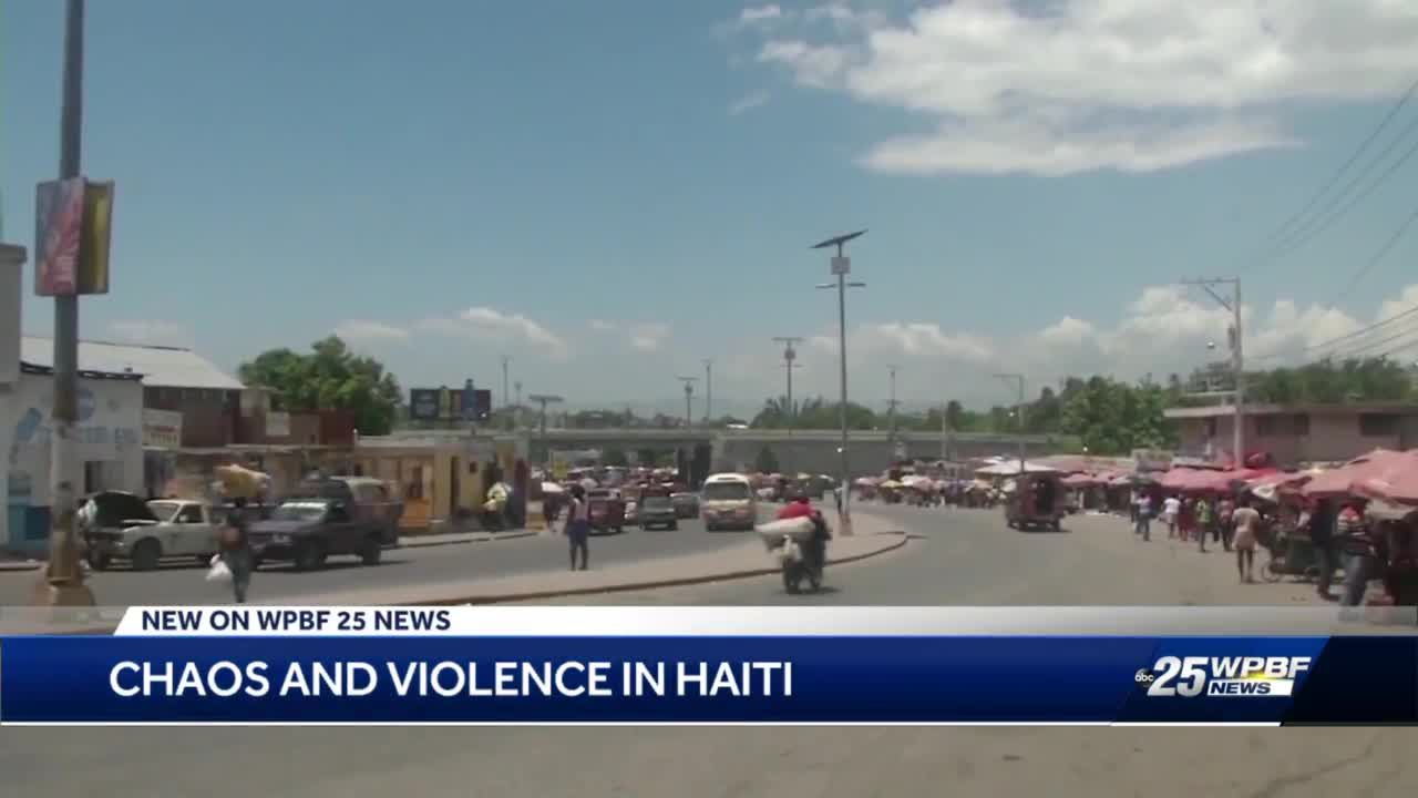 Chaos and violence in Haiti