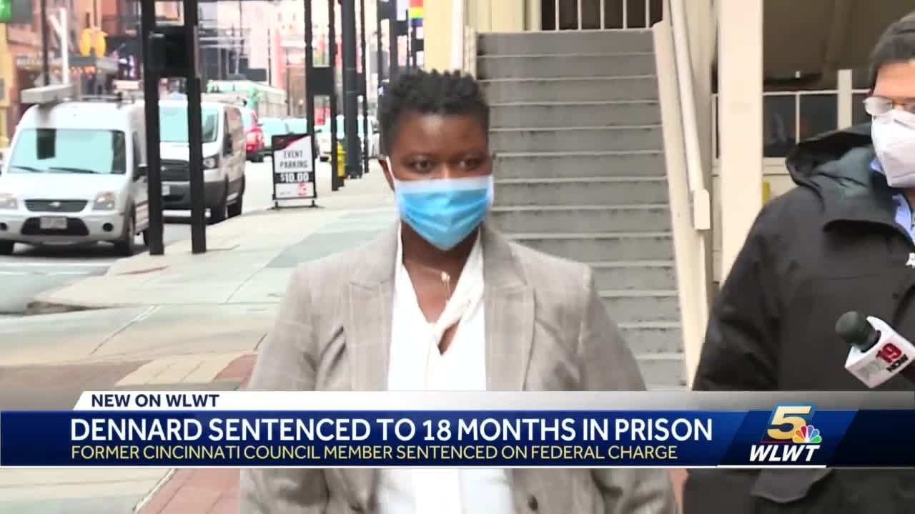 Former Cincinnati Council member Tamaya Dennard sentenced to 18 months in prison