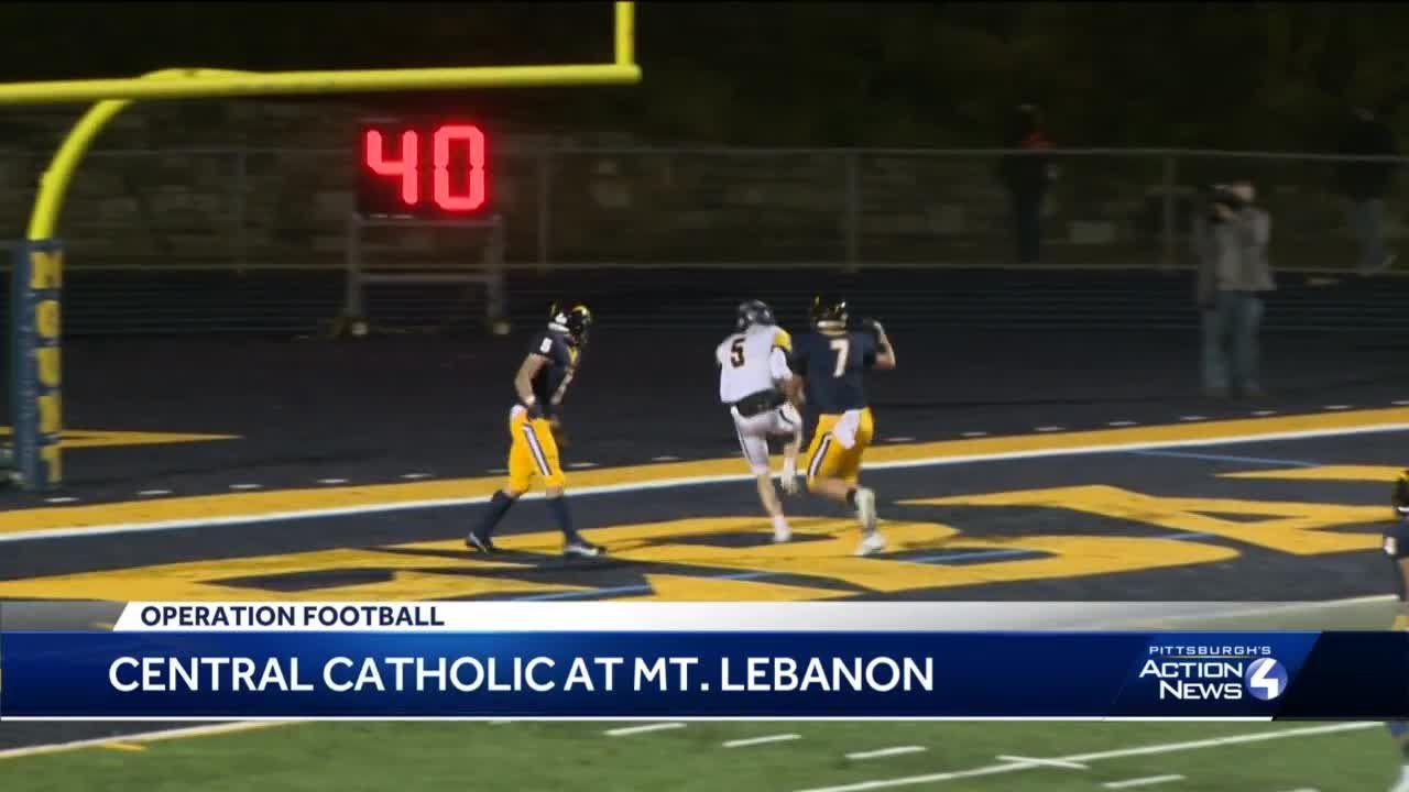Central Catholic shuts out Mount Lebanon