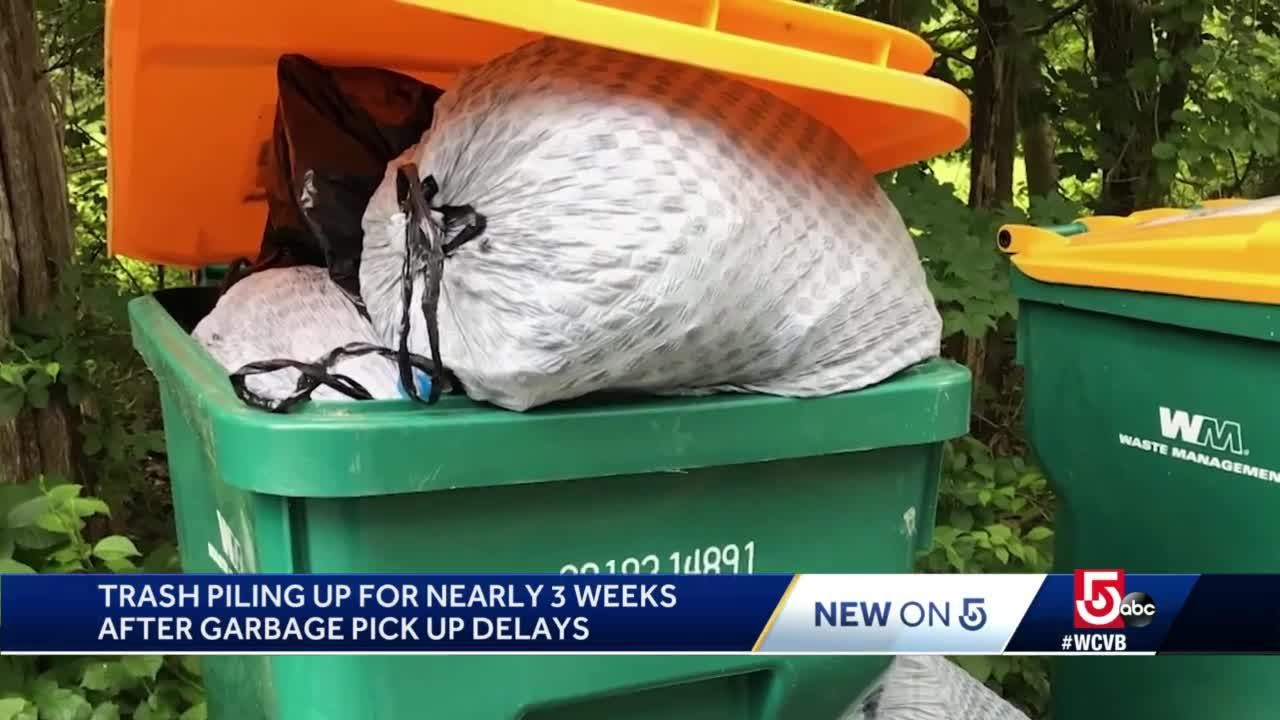 Stinky situation: Town's trash hasn't picked up in weeks
