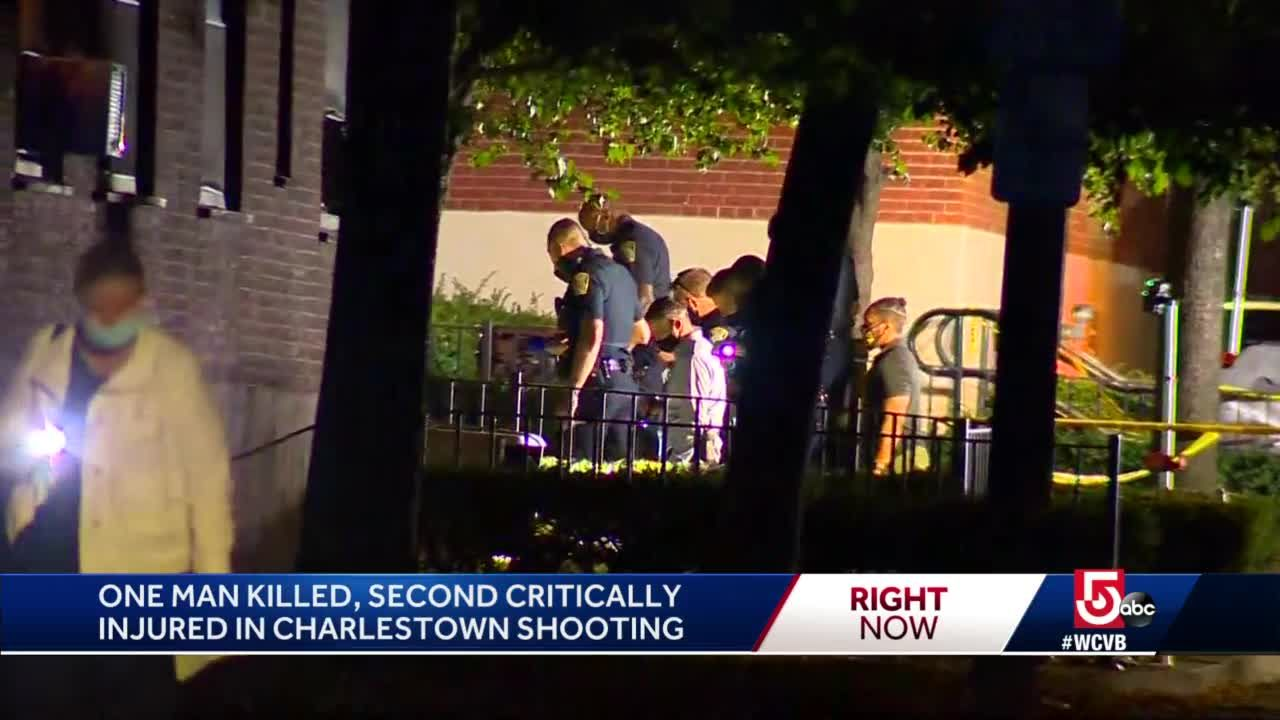 1 dead, 1 critically injured in Charlestown shooting
