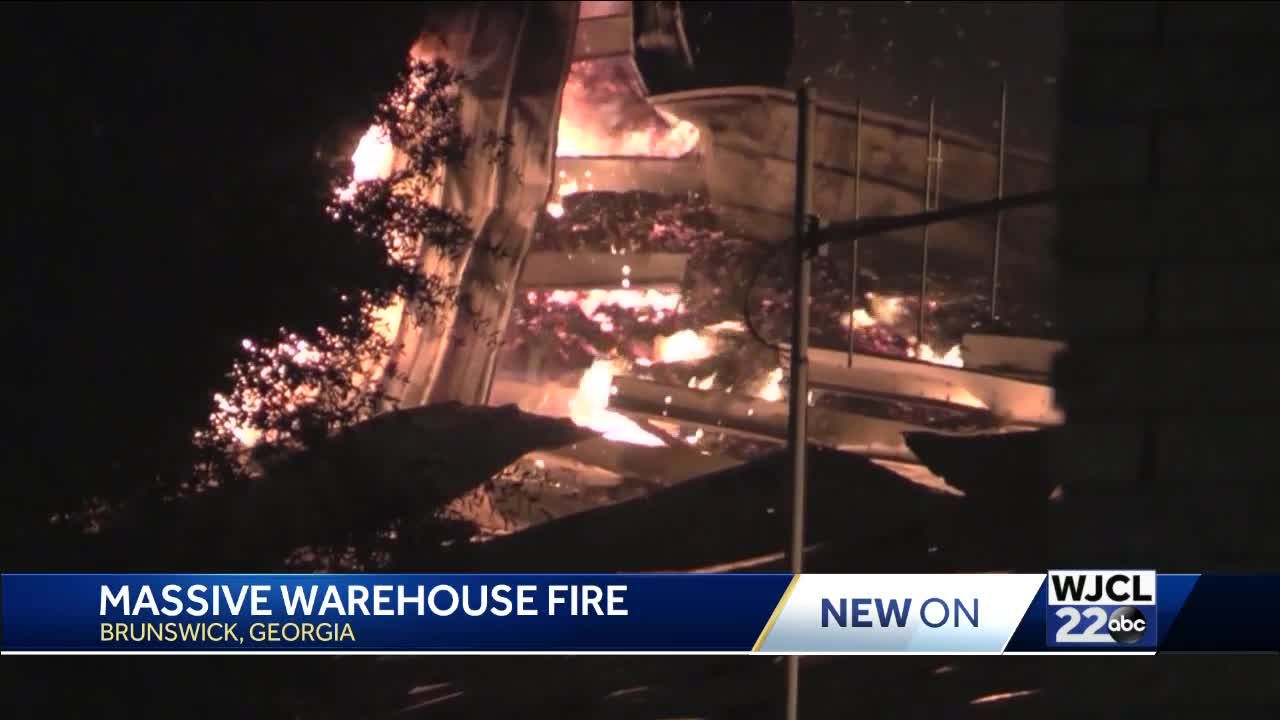 Too many wood pellets, too little water contributed to Brunswick blaze
