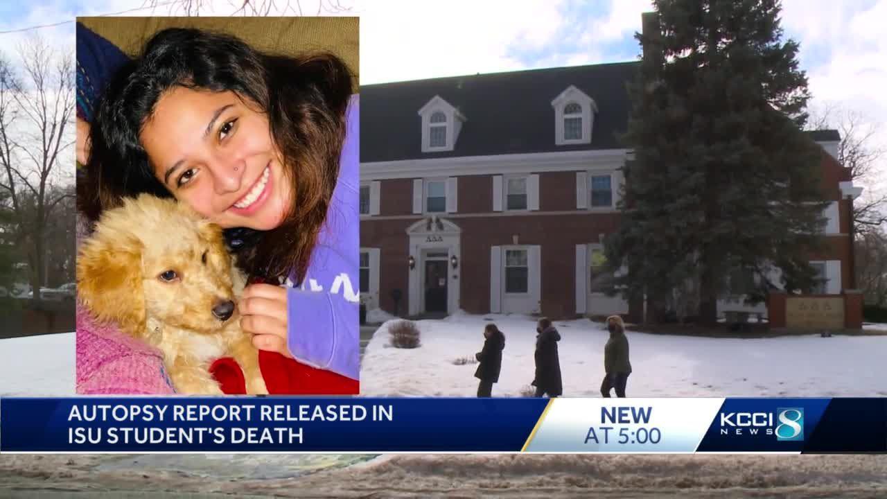 Autopsy reveals ISU sorority member died alcohol intoxication, hypothermia
