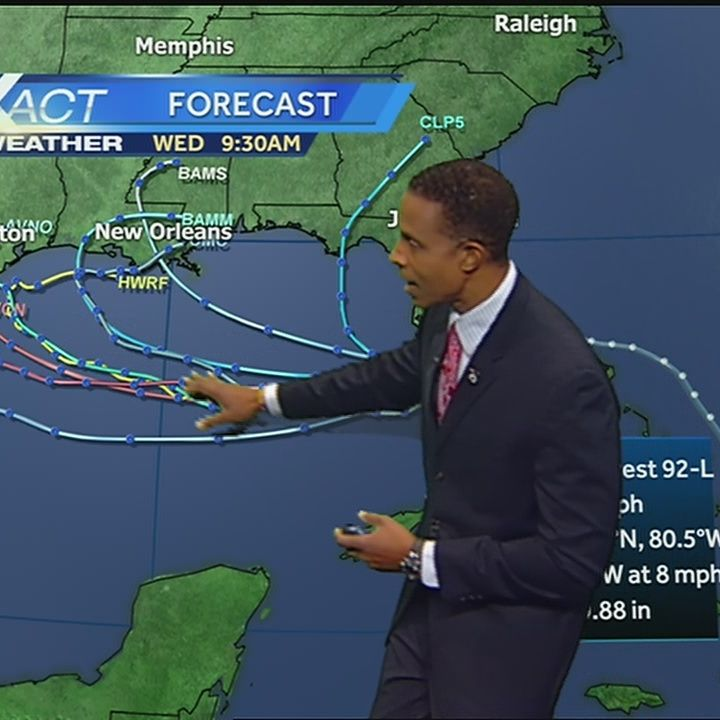 Disturbance with chance of tropical development moving into