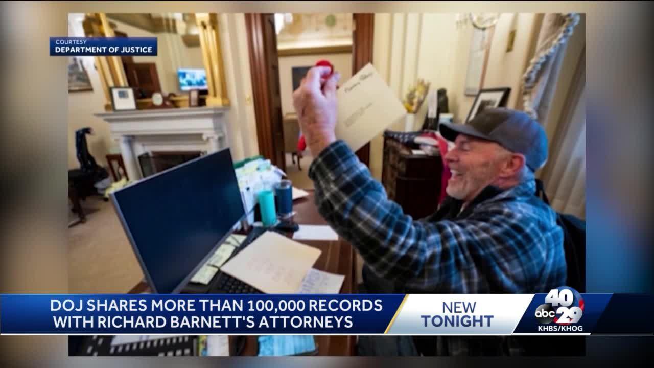DOJ shares more than 100,000 records with Arkansas U.S. Capitol suspect