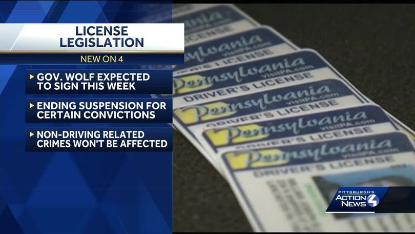 Under new state law, Pennsylvania will end driver's license