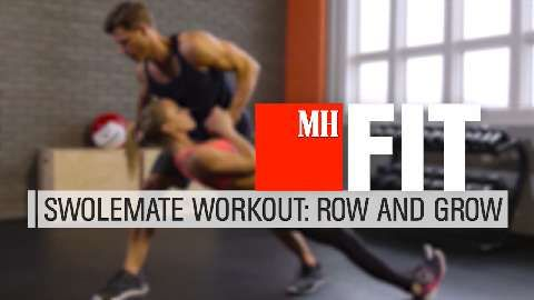 The Bodyweight Row You Can Do With a Partner