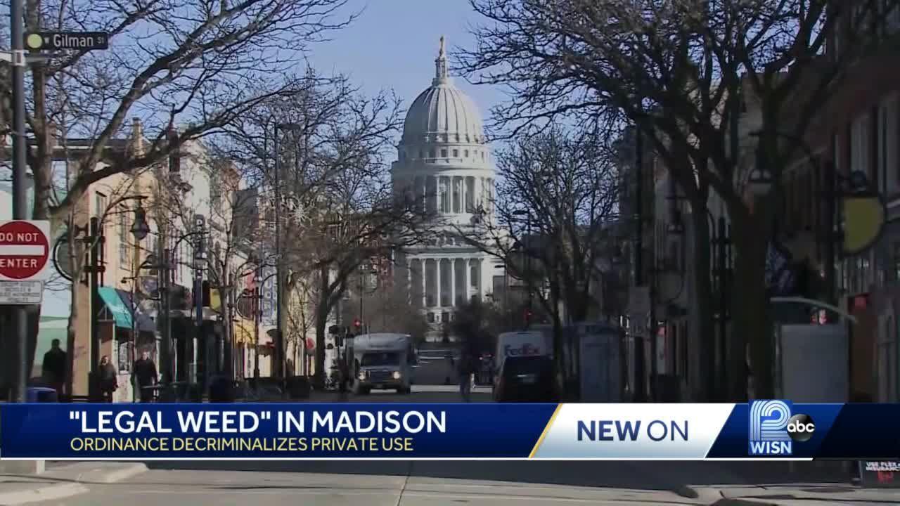 Madison Common Council votes to legalize possession, use of marijuana