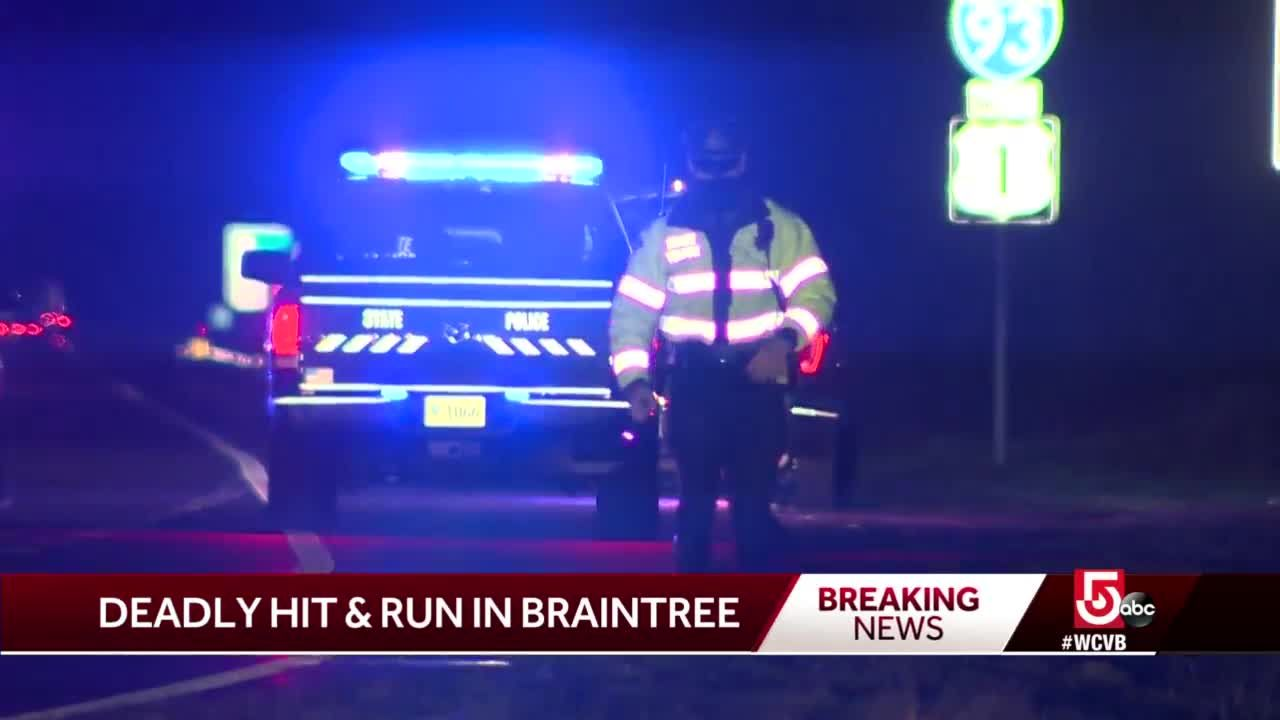 Pedestrian killed in crash on I-93