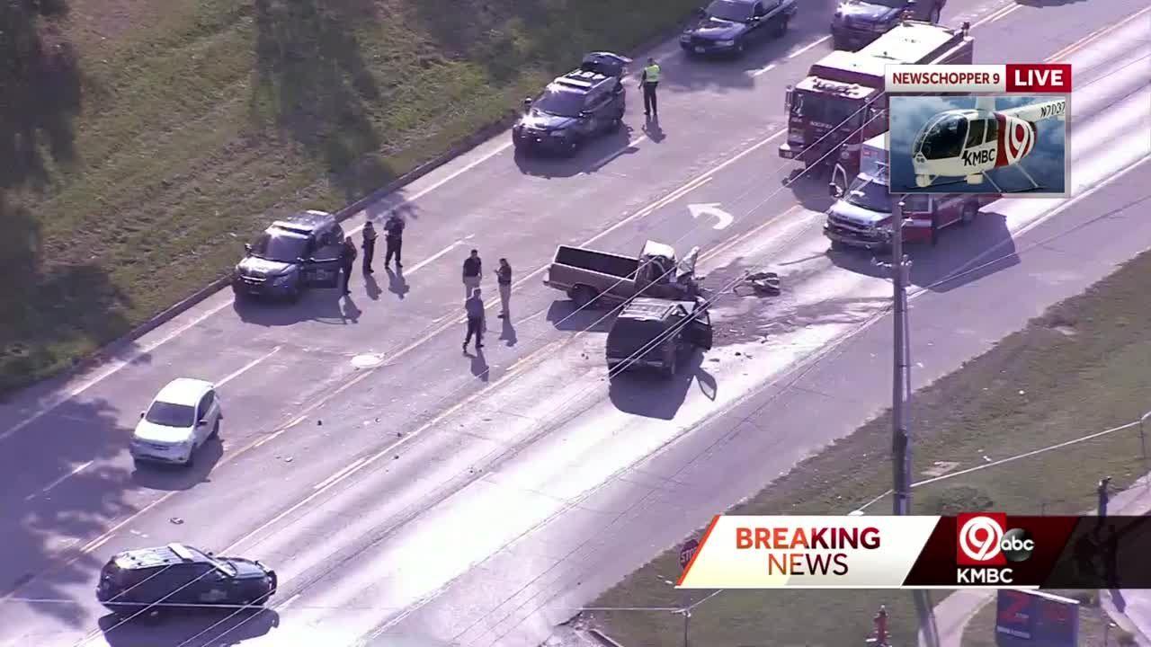 1 dies in head-on crash on US 40 near Brentwood Avenue