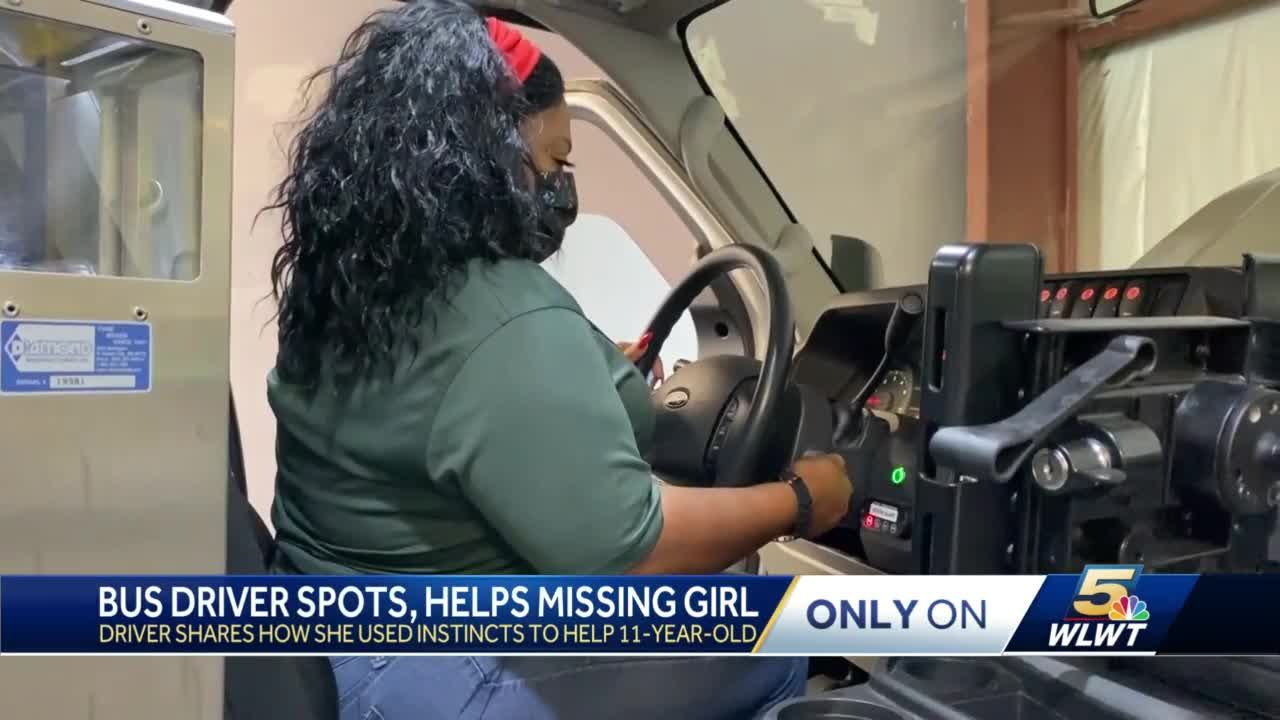 Butler County bus driver hailed a hero after finding missing 11-year-old girl