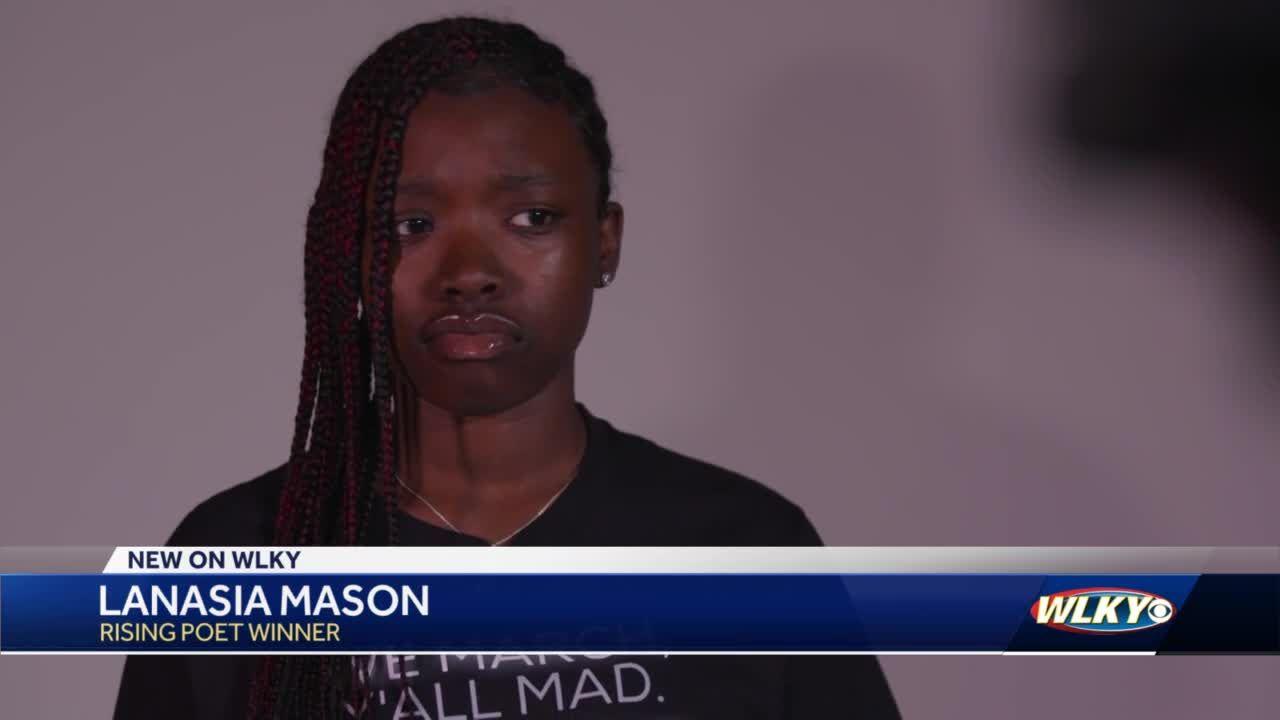 Lanasia Mason wins poetry contest
