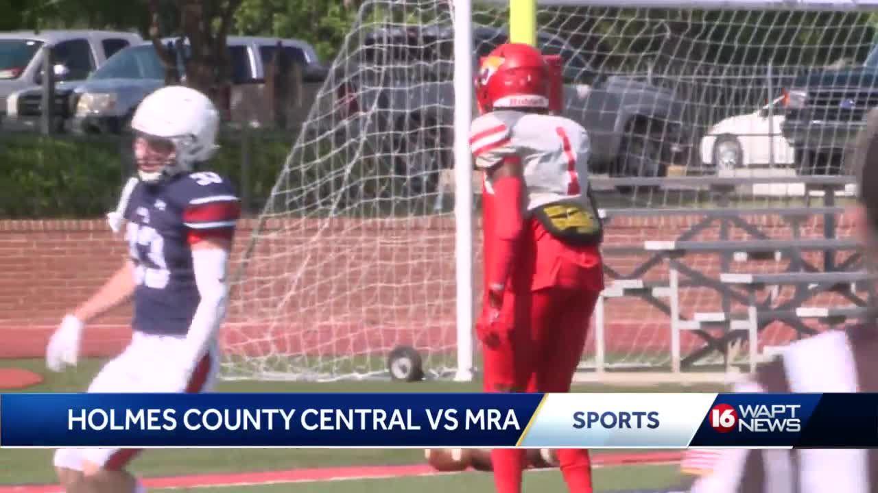 Spring Football: Holmes County Central vs MRA