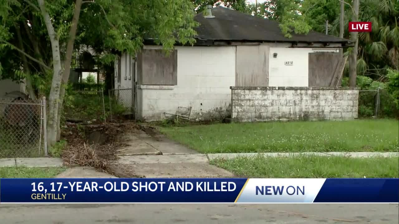 NOPD: Two teenage boys shot, killed in Gentilly