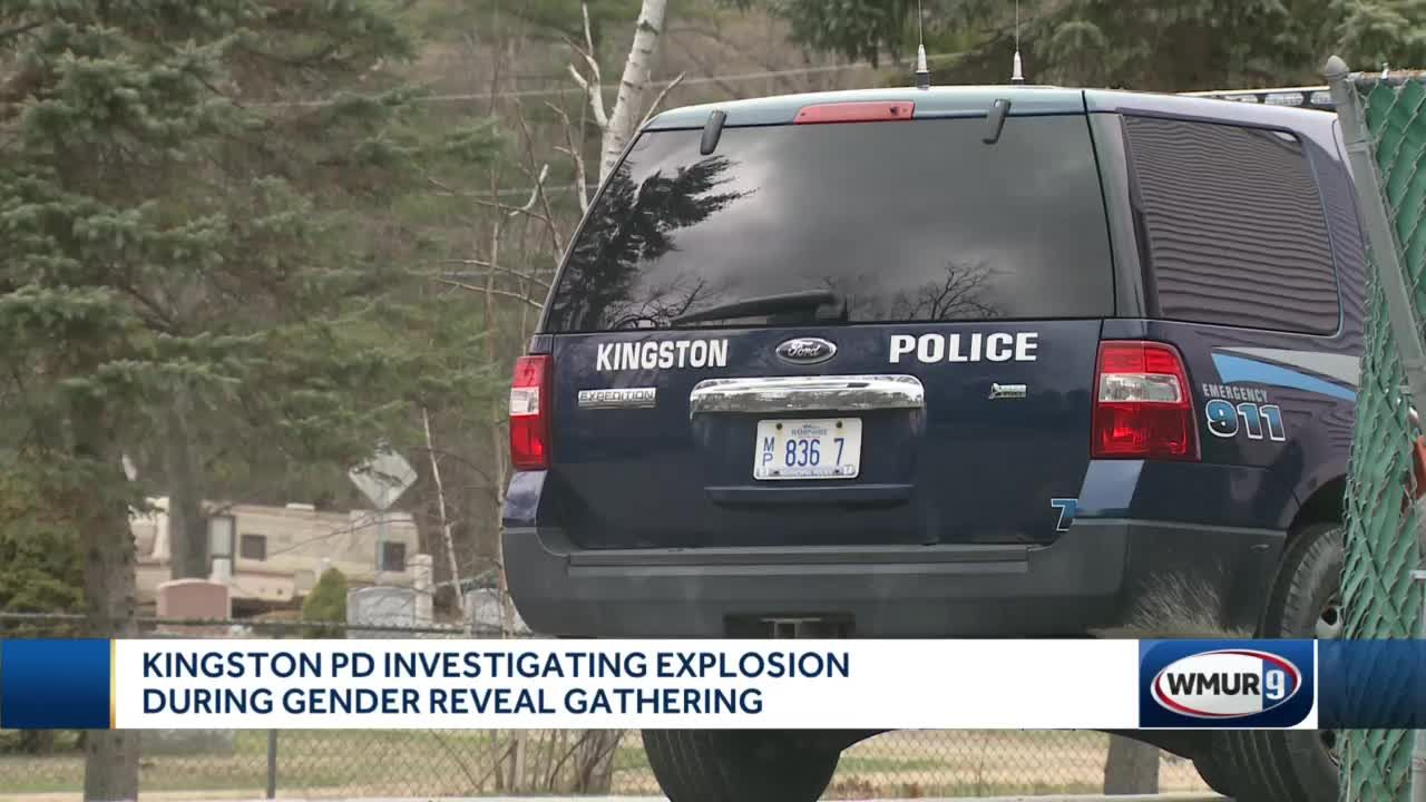 Kingston police investigating explosion during gender reveal gathering