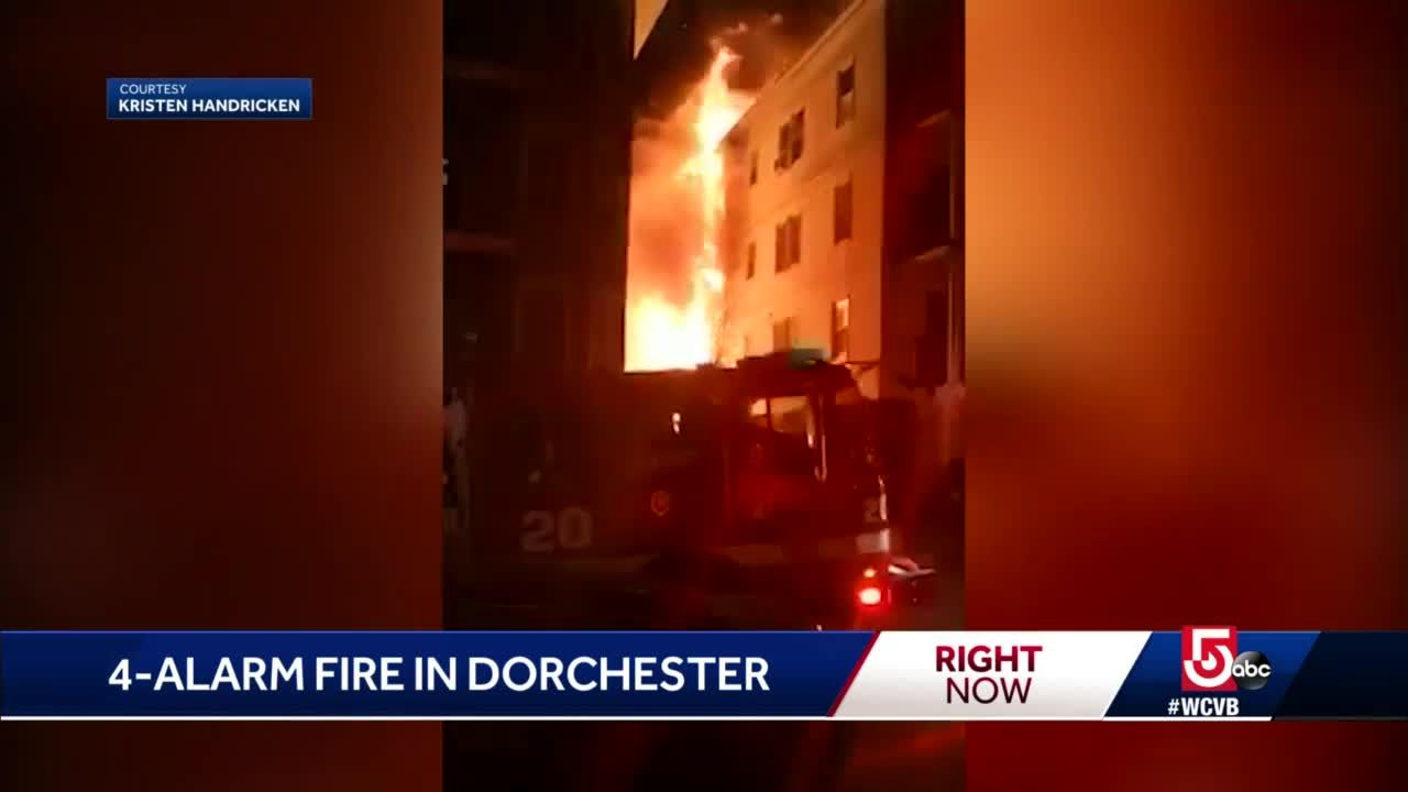 19 displaced by 4-alarm fire