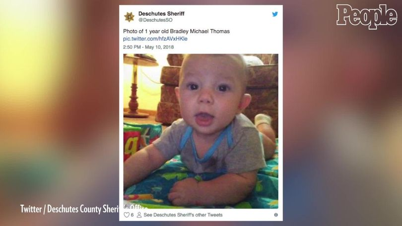 Police: Missing baby found naked, face down in woods after