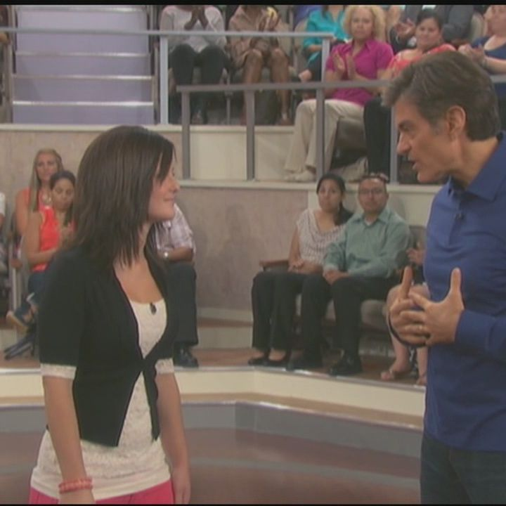 Dr  Oz weighs in on woman's claim that her cellphone caused breast cancer
