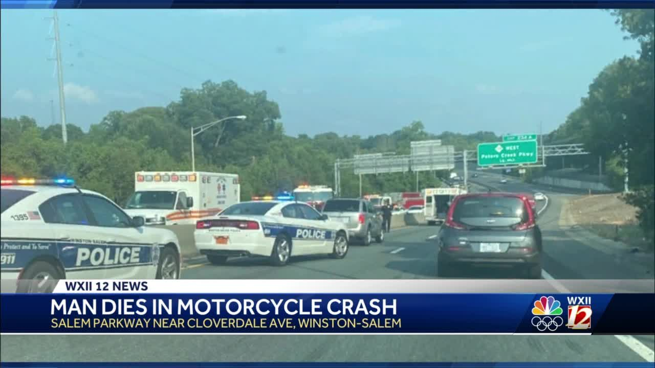 Winston-Salem man dead after crash that ejected him from motorcycle