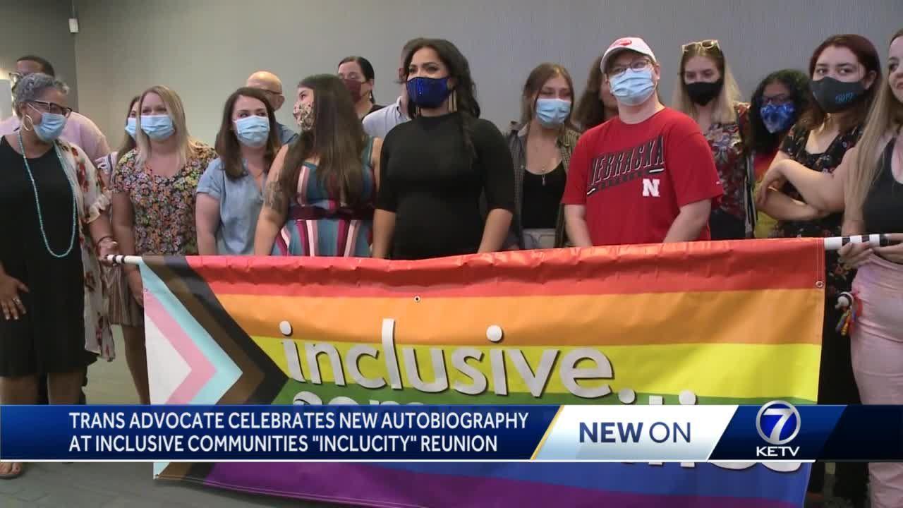 Omaha-raised trans advocate celebrates Inclusive Communities at book signing