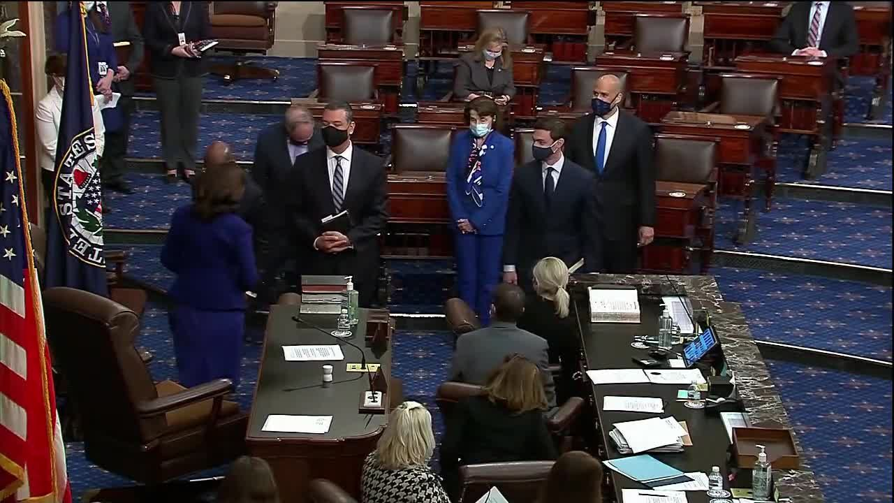 Georgia's Ossoff, Warnock sworn into Senate
