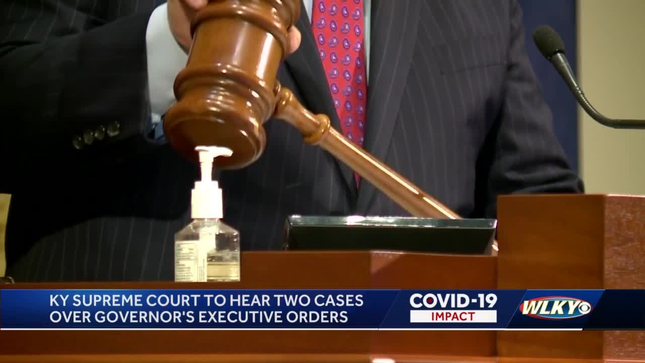 Two cases over Gov. Beshear's executive orders head to the Kentucky Supreme Court