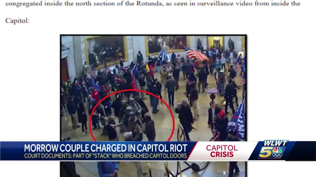 Warren County couple charged in Capitol riot alongside Oath Keepers militia group