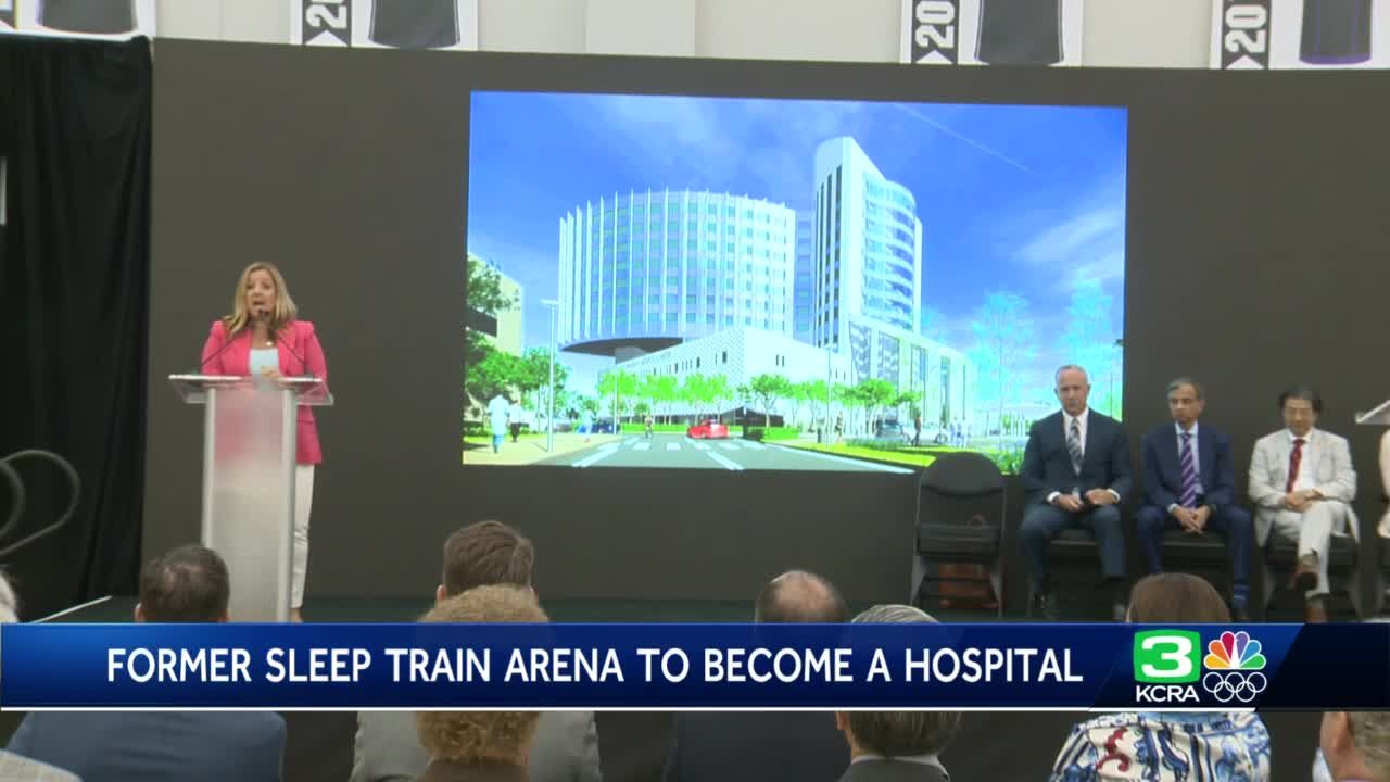 Former Sleep Train Arena in Natomas to become hospital