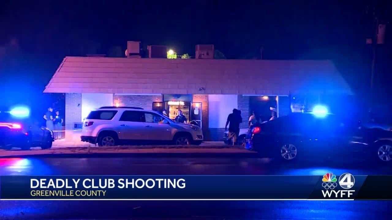 Man dies after being shot at Greenville County club, deputies say