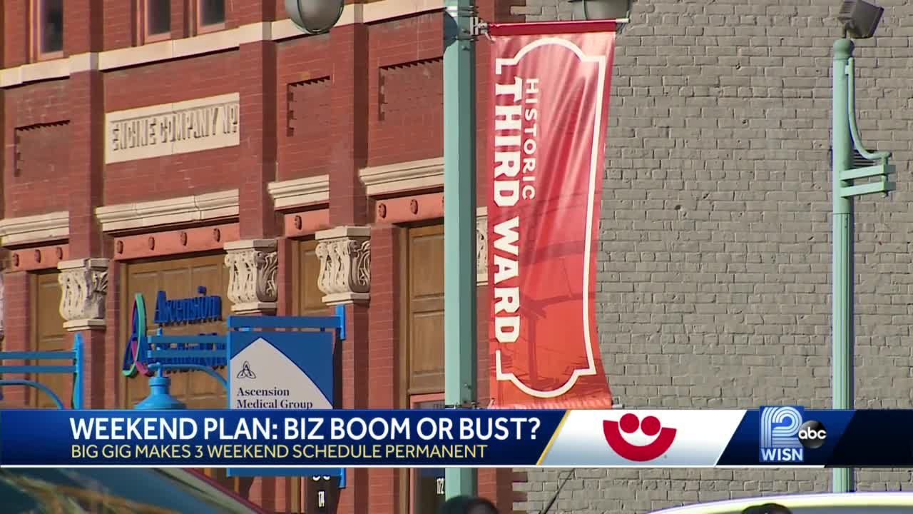 3-weekend Summerfest format here to stay; Third Ward businesses weigh in