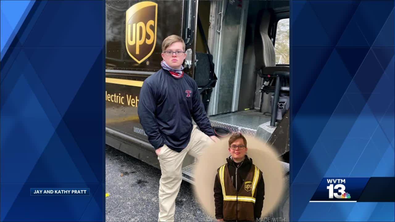 Jake Pratt lands first job with UPS