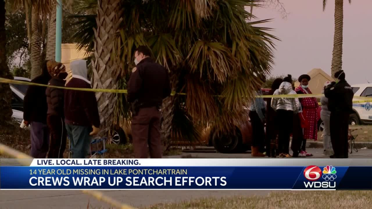 Search and rescue operation continues in New Orleans for 14-year-old swimmer