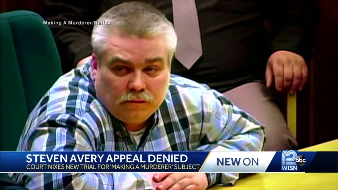 Court denies new Steven Avery appeal