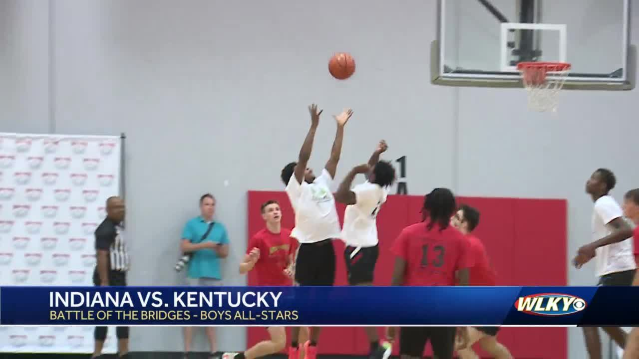 Kentucky teams take both upperclassmen all-star games over Indiana in Battle of the Bridges