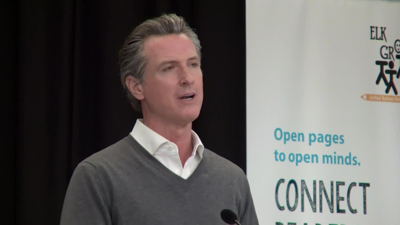 Gov. Newsom gives timeline for when Californians will exit most restrictive COVID-19 tier