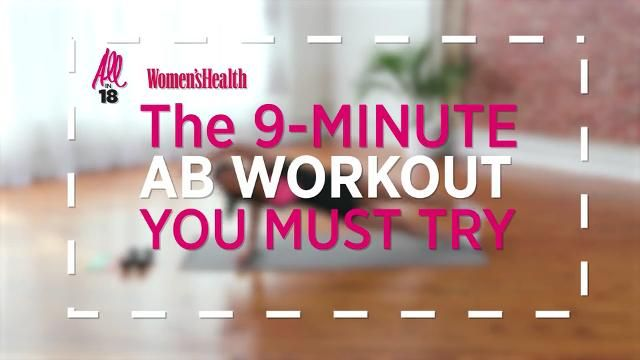 The 9-Minute Workout That'll Flatten Your Belly