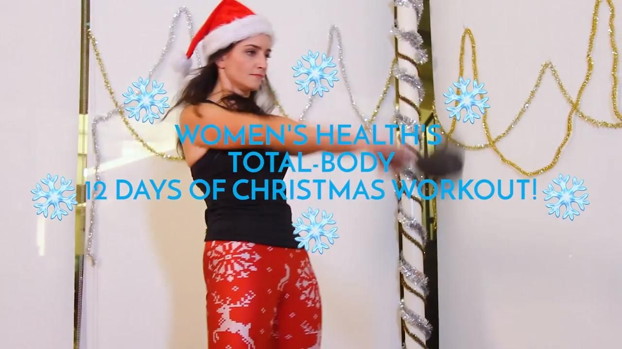 This '12 Days Of Christmas Workout' Will Keep You Fit Throughout The Holidays