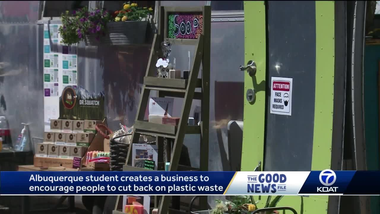 GOOD NEWS FILE: Albuquerque teen creates business to help cut back on plastic
