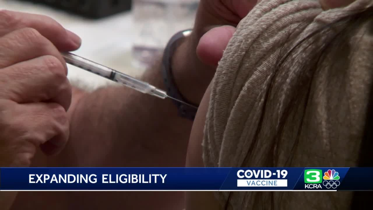 Placer County expands COVID-19 vaccine eligibility