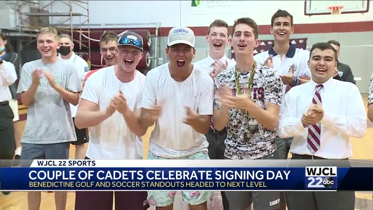 Wednesday Signings at Johnson and Benedictine