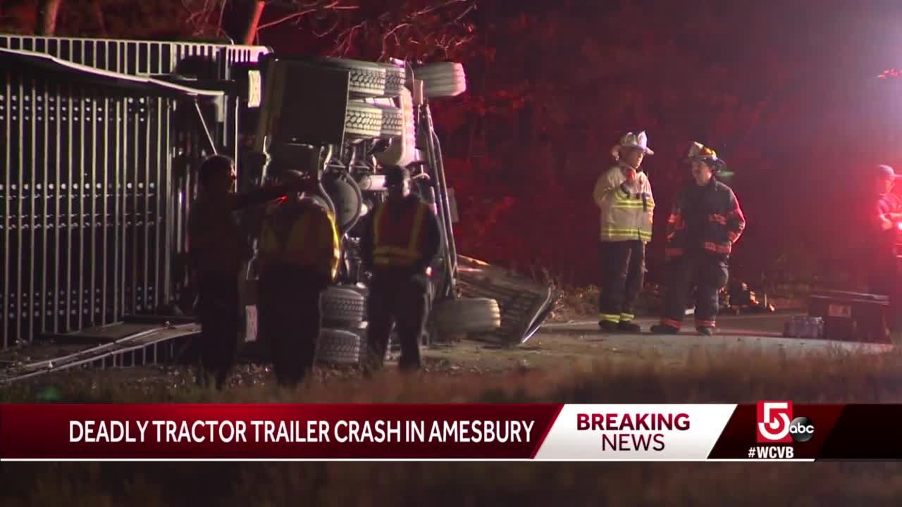 Deadly crash involving tractor-trailer under investigation