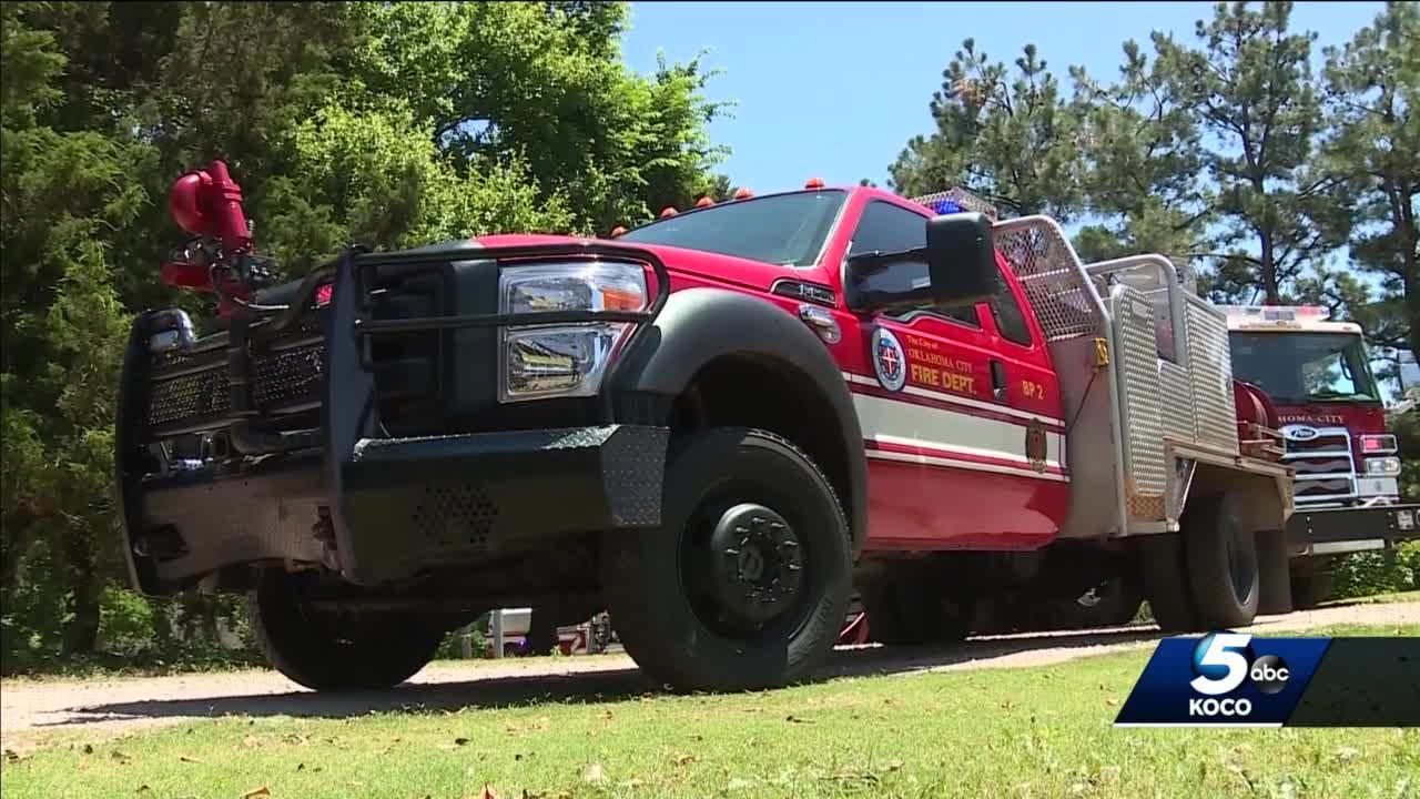 New brush pumpers to help OKCFD better protect people from wildfires